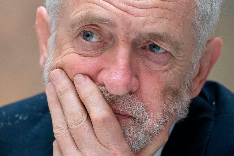 Labour-leider Jeremy Corbyn wil het verschil tussen arm en rijk verkleinen. Beeld AFP
