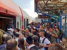 Meer reizigers in Israëlische treinen door weghalen van zitplaatsen