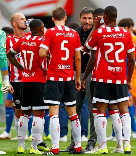 Fit PSV is al ruim twee jaar ongeslagen in eredivisieduels in Philips Stadion