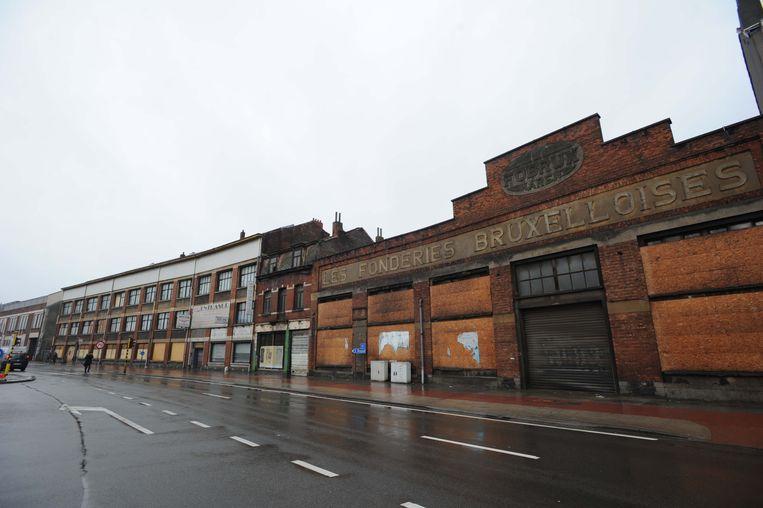 De vervallen gebouwen van Fobrux zijn een relict van de twintigste-eeuwse industrie.