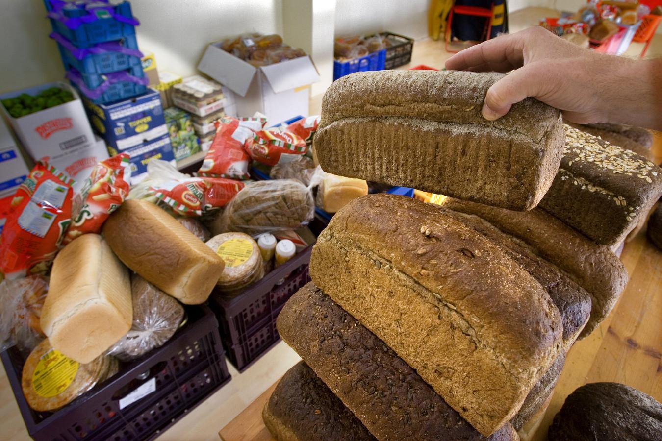 De inzameling van voedselpakketten begint weer.