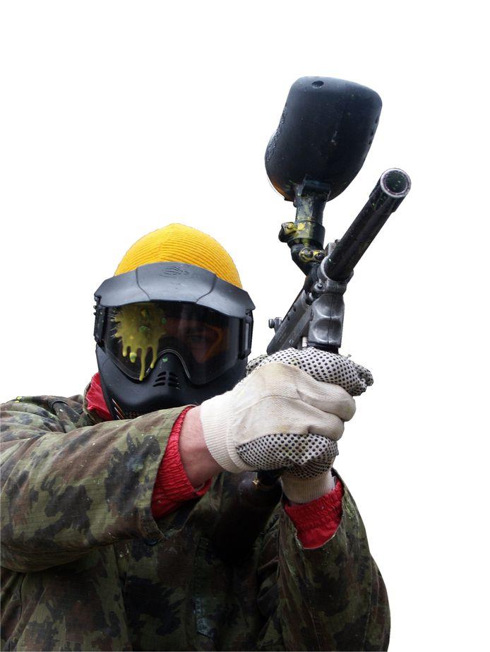 Illustratiebeeld - Het experiment met het paintballgeweer heeft tot een veroordeling geleid.
