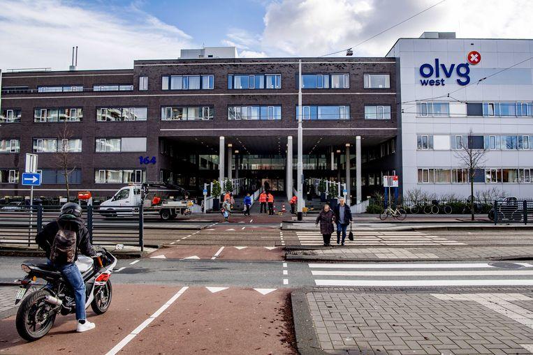Het OLVG West in Amsterdam. Beeld EPA