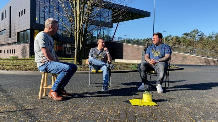 Les van Vites met Theo Janssen.