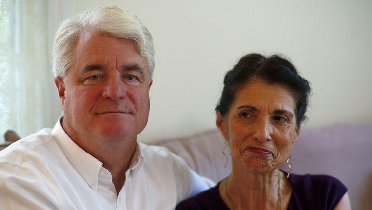 De ouders van de onthoofde James Foley. Beeld belga