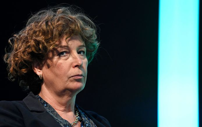 Groen-vicepremier Petra De Sutter.