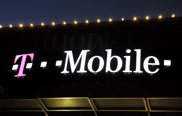 Een winkel van T-Mobile.