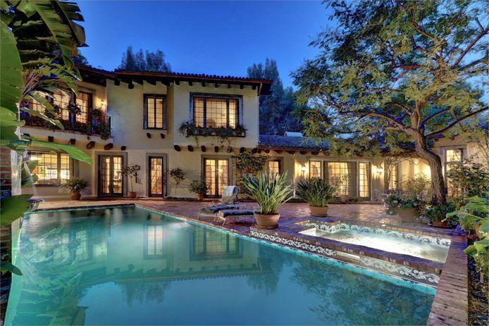 Een van Depps villa's in Hollywood