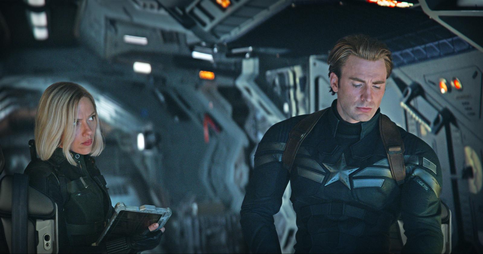 Chris Evans vertolkt de rol van Captain America.