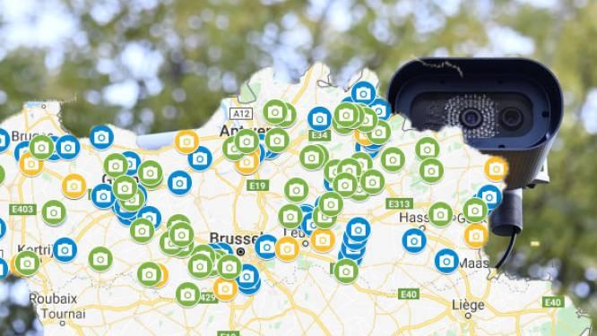 IN KAART. 121 nieuwe trajectcontroles in werking in Vlaanderen tegen volgende lente