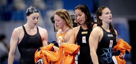 Dordtse zwemster Kim Busch grijpt naast medaille in Tokio: 'Een vierde plek is wel heel erg zuur'