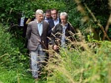 Le Roi Philippe visite une réserve naturelle à Anderlecht