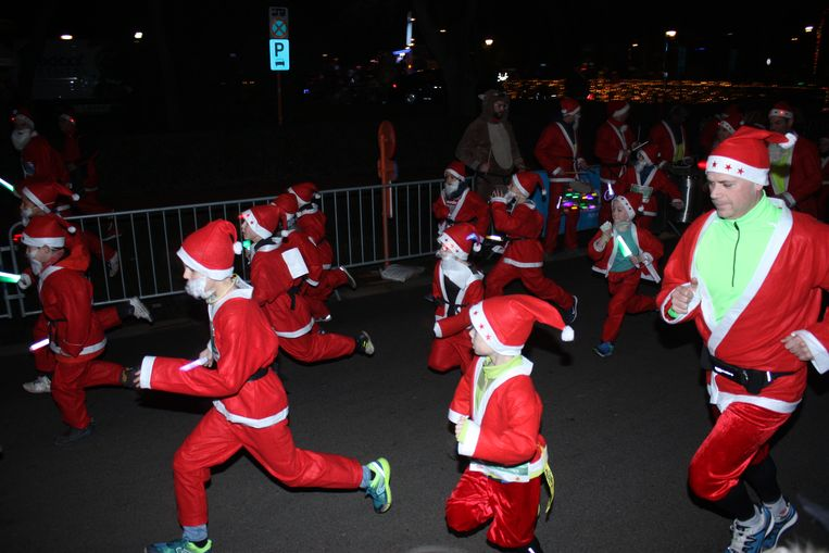 Christmas Fun Run in De Haan