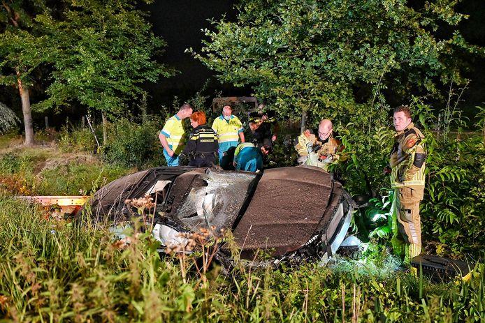 Eenzijdig ongeluk Oisterwijk.