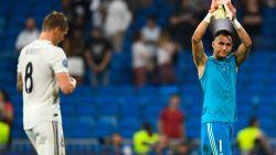 """Leuk is anders: onze chef voetbal ziet Real, met Courtois op de bank, indruk maken en Bernabéu """"Keeeylor"""" scanderen"""