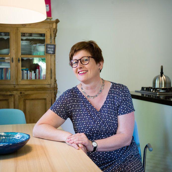 Diane Steenbruggen in haar coachkeuken