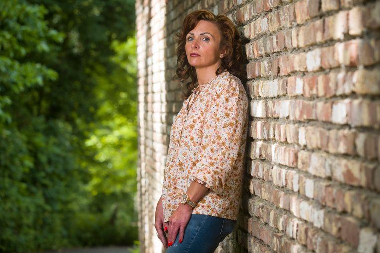 Vanessa Cantaert, die deze week de rechtszaak won tegen procureur Johan Sabbe. Beeld Simon Mouton Photo News