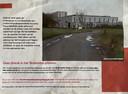 Met deze flyer informeert het actiecomité de inwoners van Meerbeek.