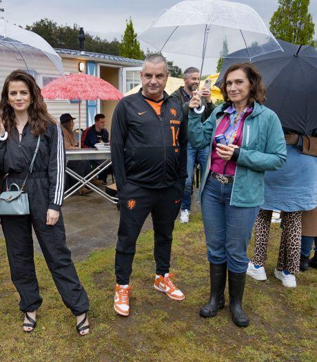 Ferry Bouman uit 'Undercover' op Vakantiepark Prinsenmeer voor promotie Netflix-film