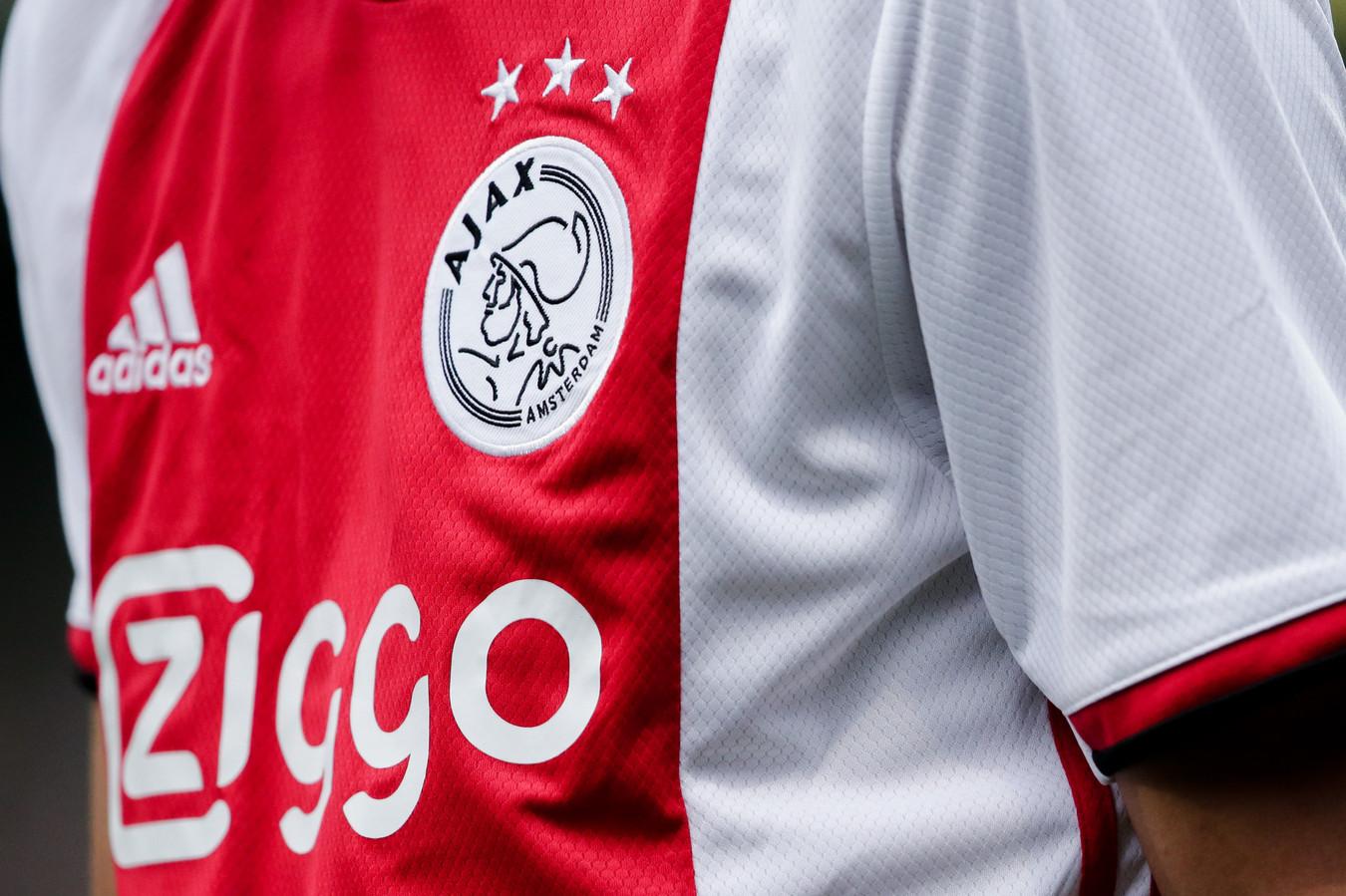 Ajax-tenue, foto ter illustratie.