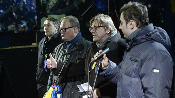 Hans van Baalen in 2014 in Kiev.