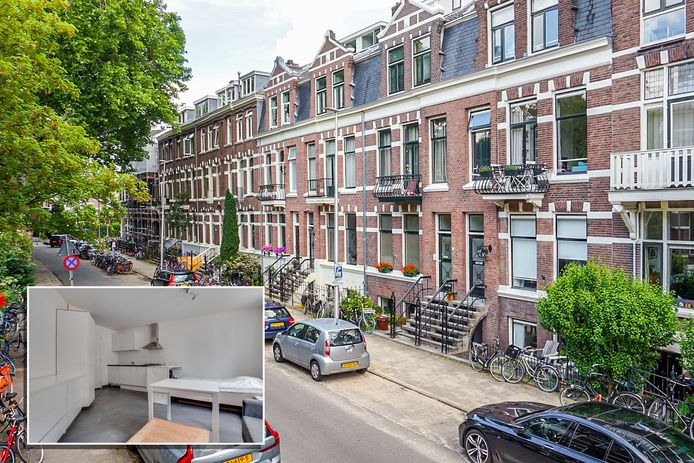 Aan de Alexander Numankade in Utrecht is deze maand een appartement van 23 m2 verkocht voor 197.500 euro. De vierkante meterprijs is ruim 8.500 euro, vermoedelijk een record.