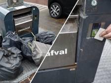 Vuilnis naast de containers door nieuwe afvalpas? 'Mensen moeten wennen aan het systeem'
