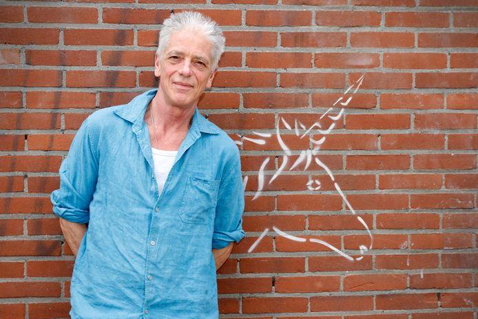 Actievoerder Jan-Frank Gerards.