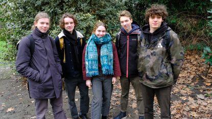 Ook in Antwerpen brossen leerlingen voor het klimaat