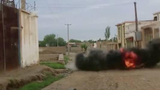 Er wordt dit weekend hevig gevochten in de straten van Kunduz.