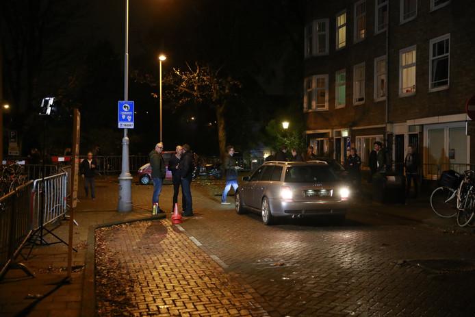 De reconstructie van de liquidaties in de Staatsliedenbuurt op de kruising van het Van Bossepad, de Visseringstraat en de Van Rapperdstraat.