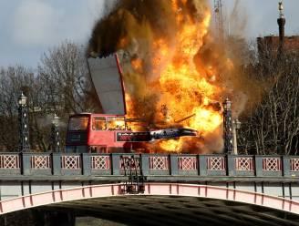 Londenaars hadden in tijden van terreurangst toch graag eerder geweten dat Jackie Chan een bus ging opblazen