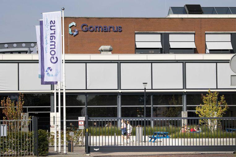 De reformatorische school Gomarus in Gorinchem, kwam in het nieuws door het bericht dat leerlingen er zouden worden gedwongen hun homoseksualiteit aan hun ouders bekend te maken. Beeld ANP