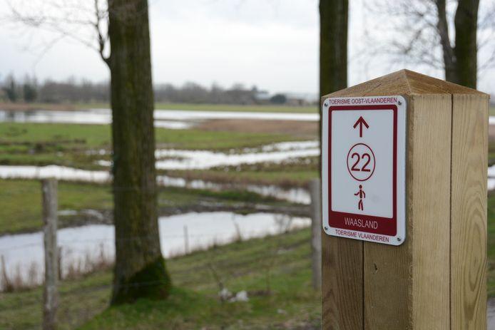 In totaal werd 120 km aan wandelroutes uitgestippeld in het gebied.