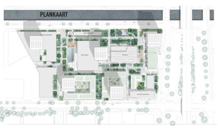 Het plan voor het Campinaterrein in Eindhoven wordt groener, onder meer omdat insprekers ook graag tuinen zouden willen voor de bewoners.