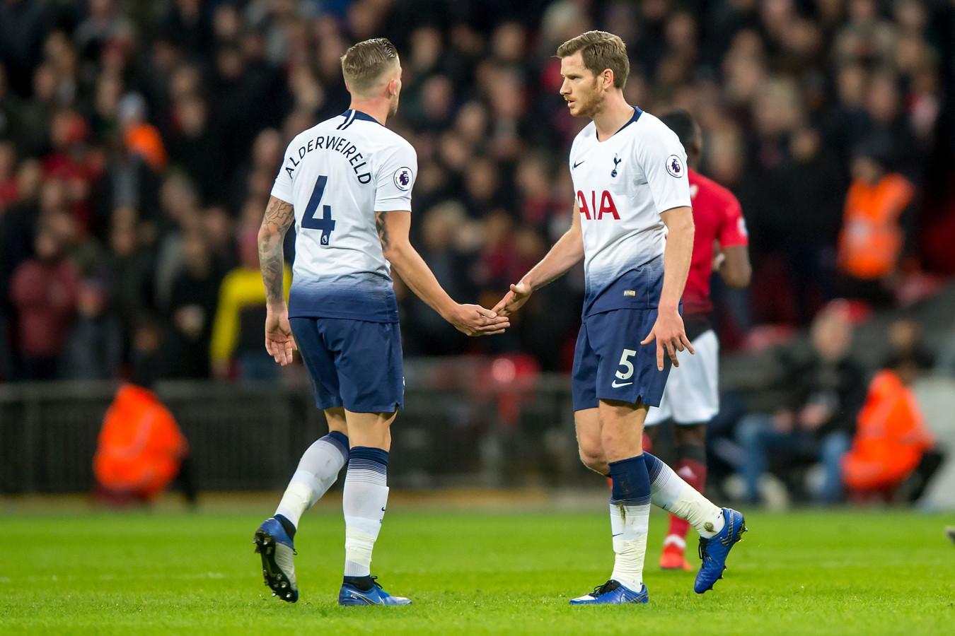 Fin d'une aventure commune qui aura duré cinq ans pour les deux défenseurs belges à Tottenham.