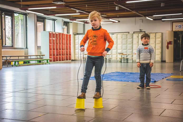Paaskamp van Idee Kids in de Voskenslaan.