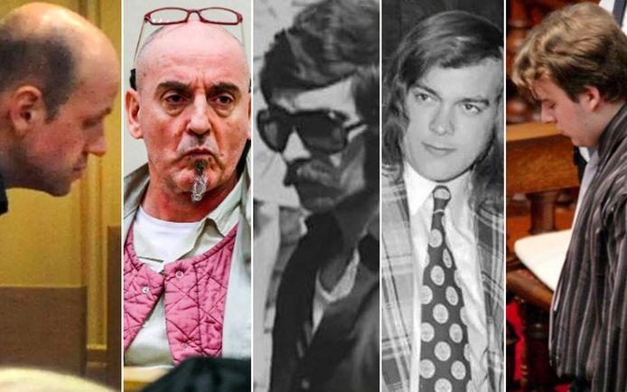 Ook deze (serie)moordenaars uit ons land werden veroordeeld tot een levenslange celstraf.
