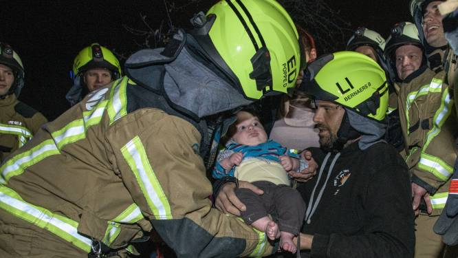 """Brandweerposten verrassen collega die bijna dood was: """"die mensen die daar stonden zijn geen vrienden. Dat is gewoon familie"""""""