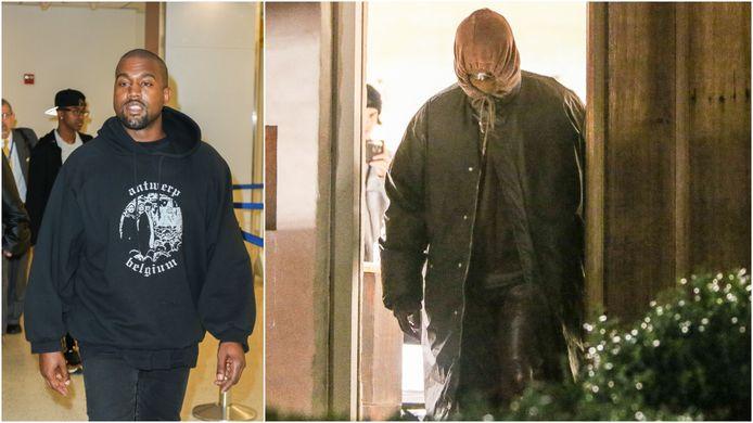 Kanye West werd op de luchthaven van LAX al gefotografeerd  met een 'Antwerp Belgium'-sweater van Raf Simons. In 2020 vertoefde de rapper vier dagen in het hart van Antwerpen. Op de foto verlaat hij een pand van zijn goede vriend Axel Vervoordt op de Oude Koornmarkt.