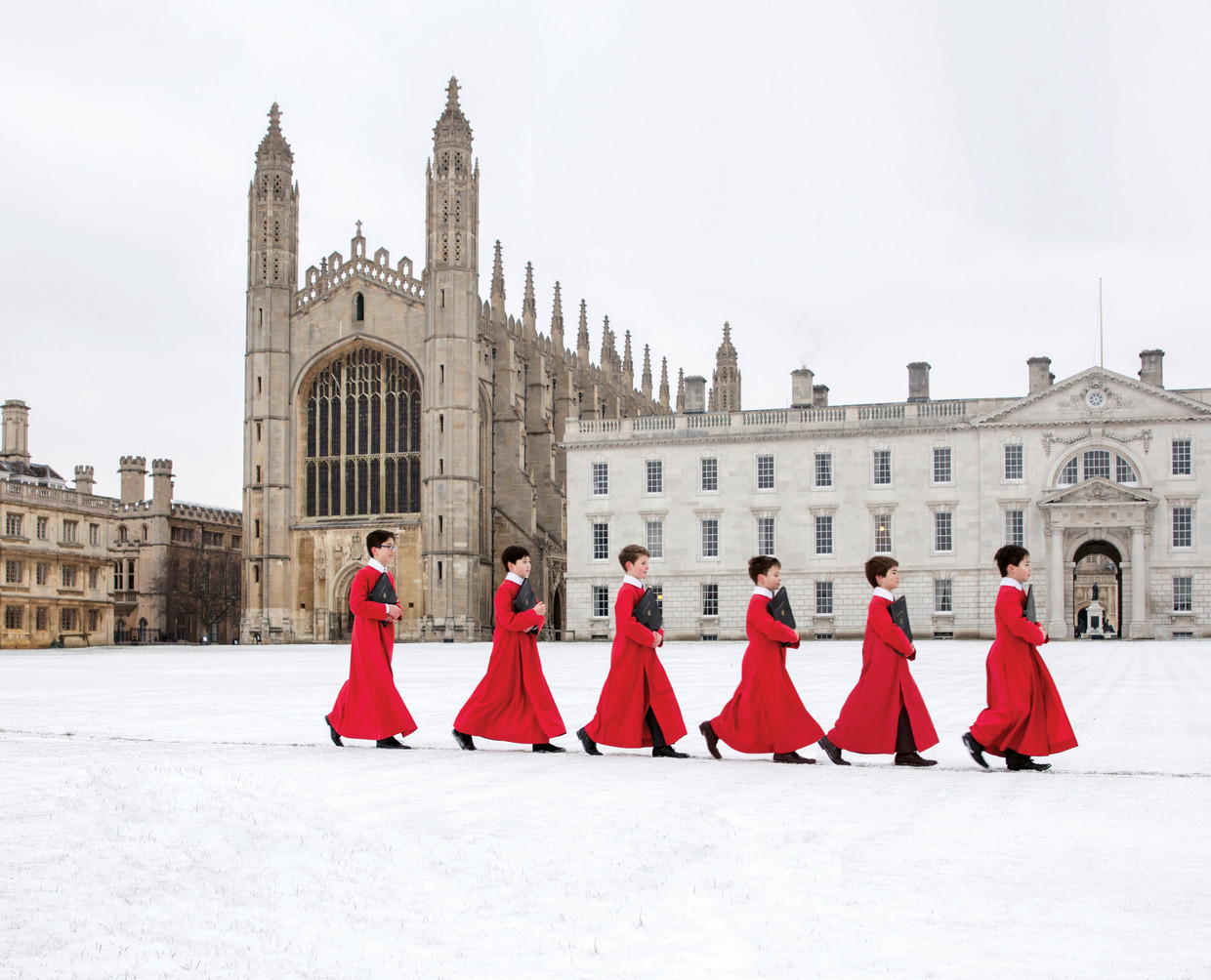 The Choir of King's College Beeld