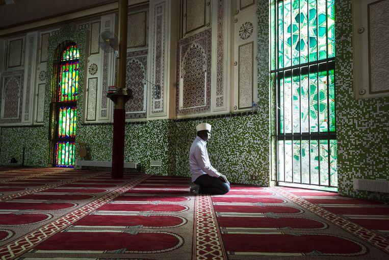 DeGrote Moskee van Brussel. Beeld ID/ Dieter Telemans