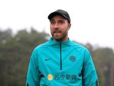 "Christian Eriksen de retour ""en bonne forme"" à l'Inter Milan"