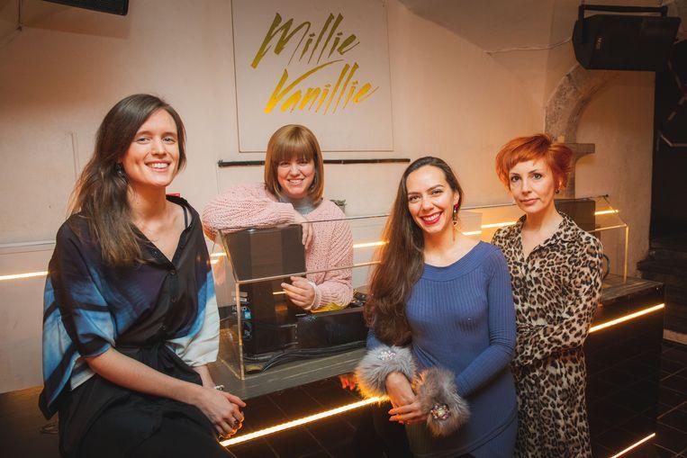 Lana Bauwens organiseert de Goddess Party samen met Sandra Allemeersch, Chloë Piro en Mieke Coomans.