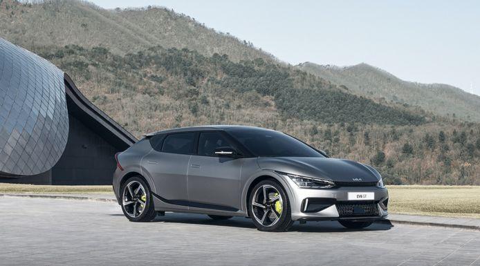 De nieuwe GT-versie van de Kia EV6.