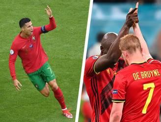 Duivels tegen Portugal van Ronaldo in achtste finale, daarna wachten Italië en mogelijk Frankrijk of Spanje