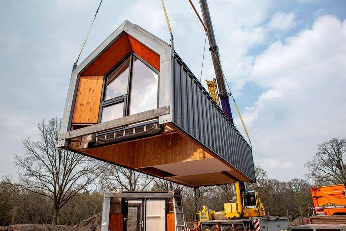 Voorbeeld van een door bouwbedrijf Heijmans ontwikkeld tiny house