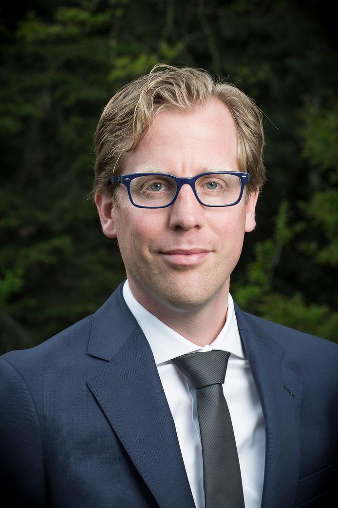 Gedeputeerde Christophe van der Maat.