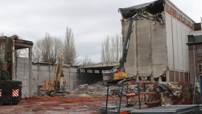 Oude fabriek 'De Molens' na 130 jaar tegen de grond: plaats voor woonwijk van de toekomst