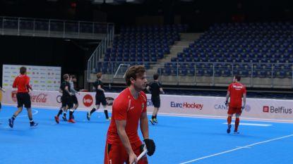 België plaatst zich voor halve finales EK zaalhockey